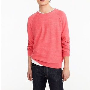J.Crew mens red rugged cotton sweater size large